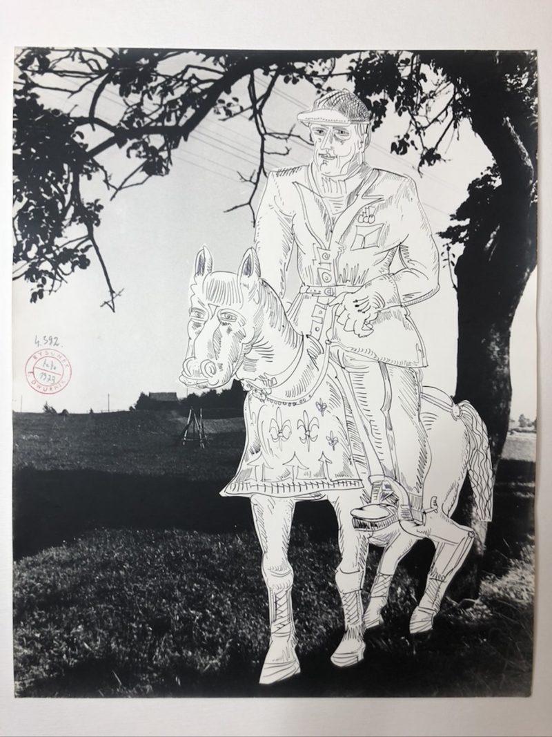 """""""I am a cowboy"""", 1973"""