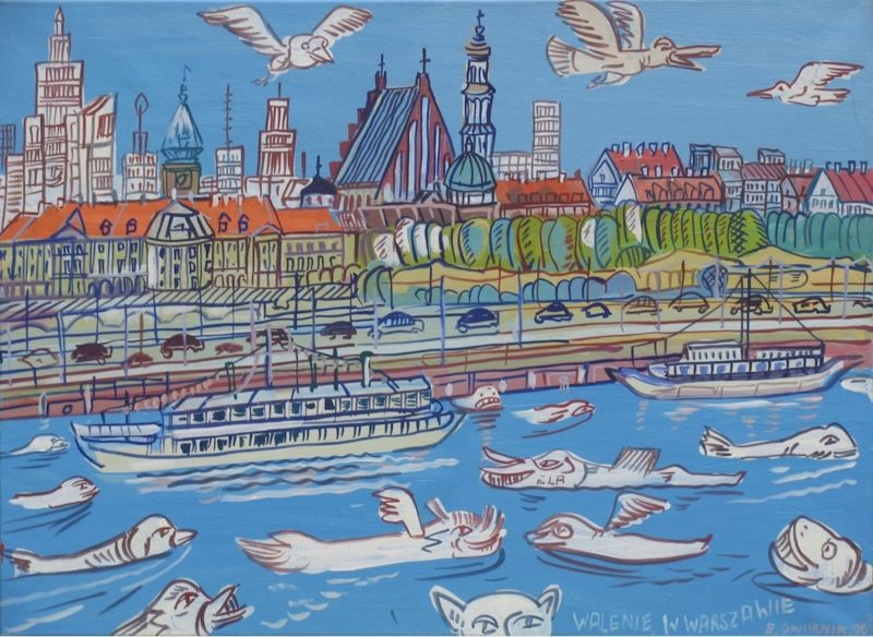 """Whales in Warsaw"", 2006"
