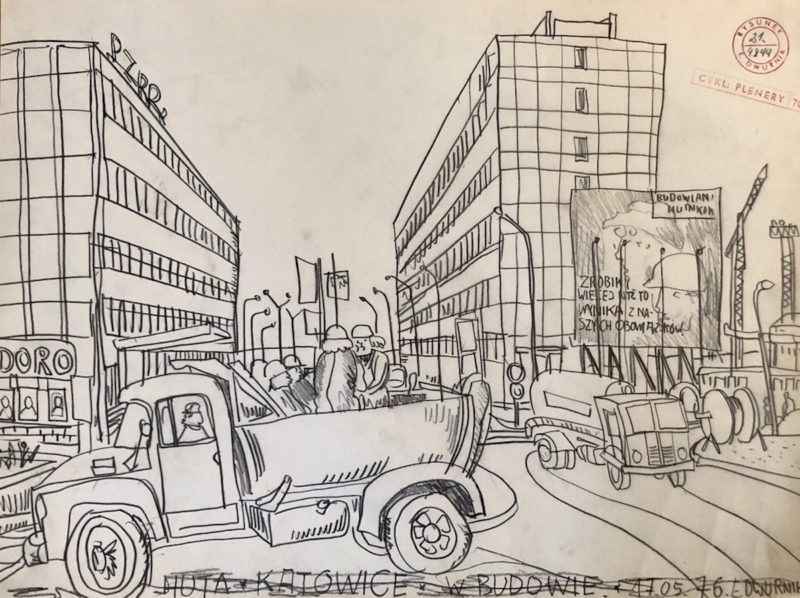 """Katowice Steelworks"", 1976"